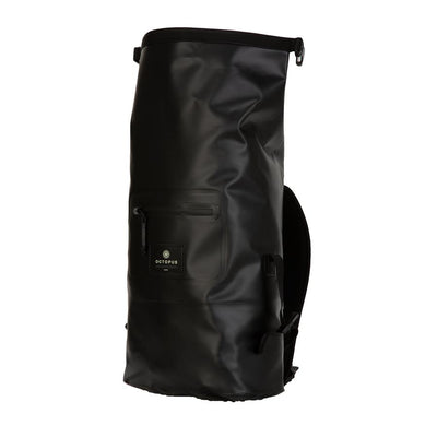 Octopus wetsuit dry bag backpack - open view