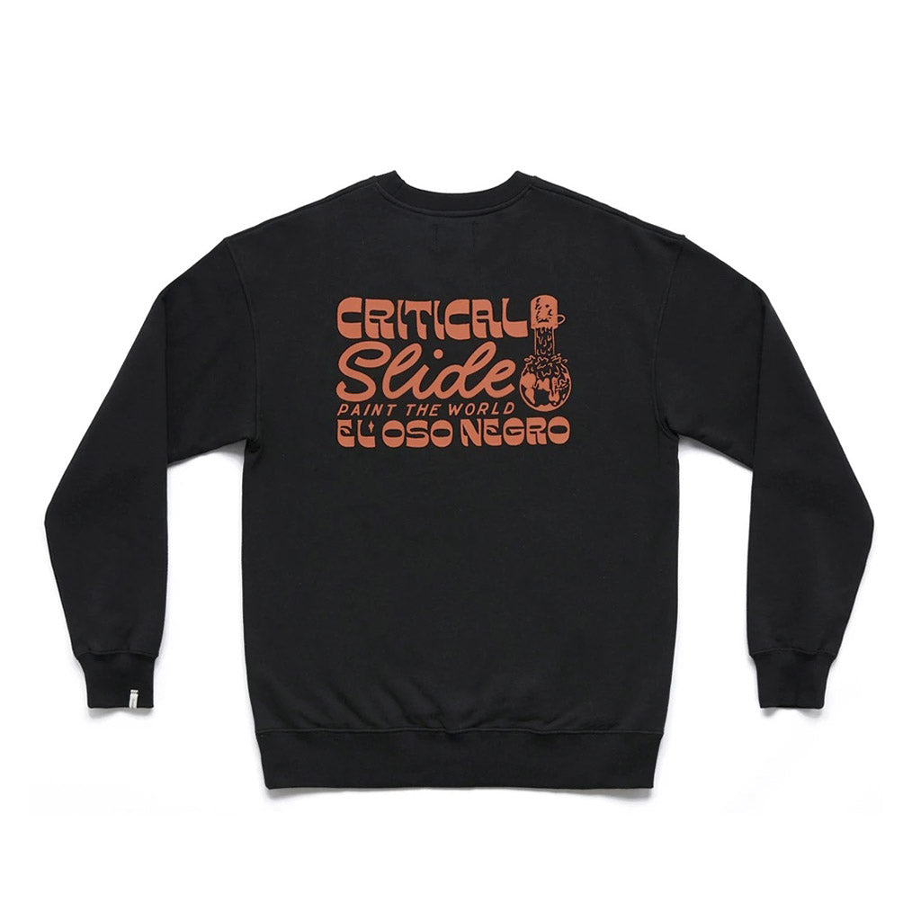 Tcss El Oso Crew Neck - Black