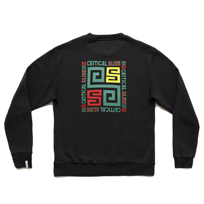 Tcss Tripoli Crew Neck - Green Black