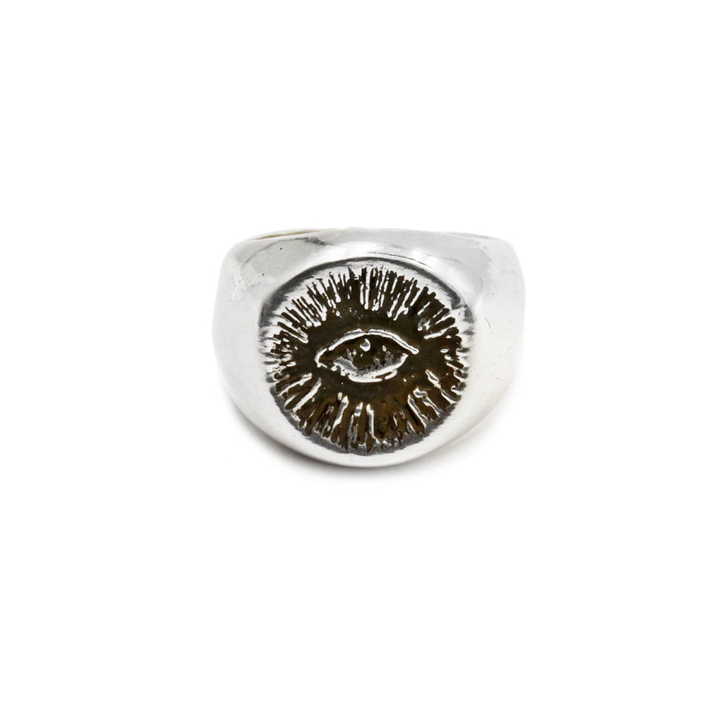 The Hunt NYC Small Signet Ring - .925 Sterling Silver