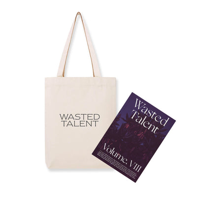 Wasted Talent Magazine Vol VIII & Wasted Talent Tote Bag