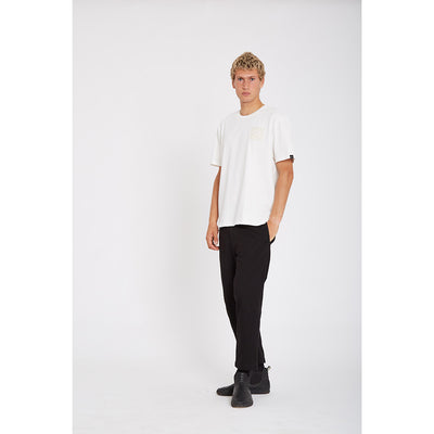 Wasted Talent Bastia Box Fit T-Shirt - Off White