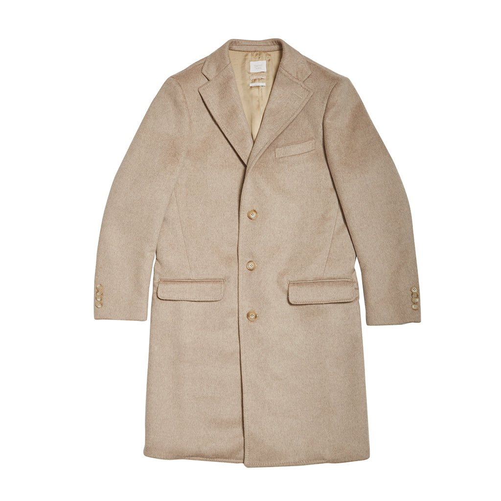 Wasted Talent Di Lusso Cashmere Overcoat - Champagne