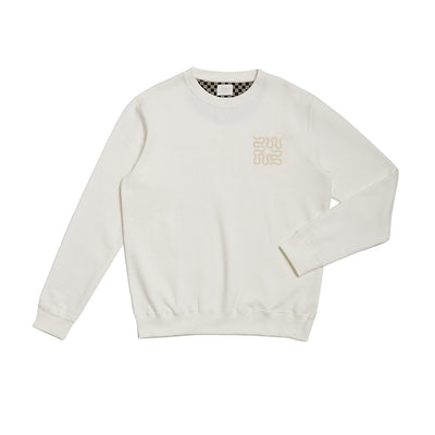 Wasted Talent Gracia Crew Neck - Off White