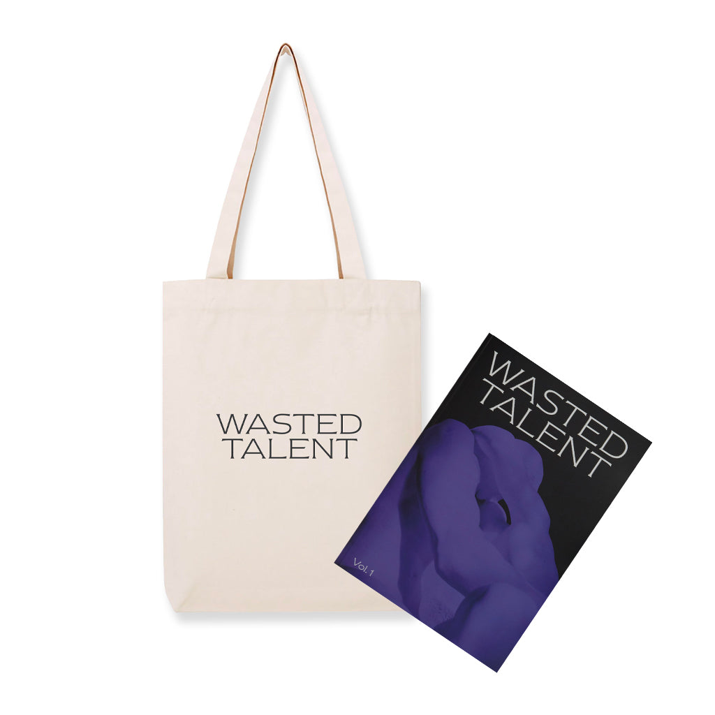 Wasted Talent Magazine Vol i & Wasted Talent Tote Bag