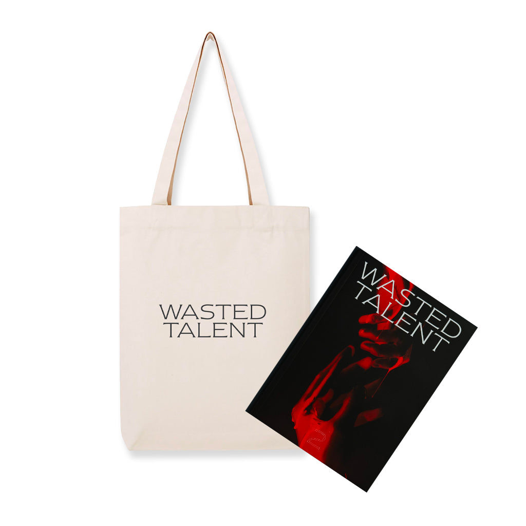 Wasted Talent Magazine Vol. ii & Wasted Talent Tote Bag