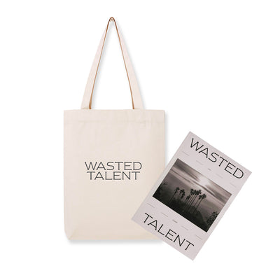 WASTED TALENT MAGAZINE VOL.III & WASTED TALENT TOTE BAG