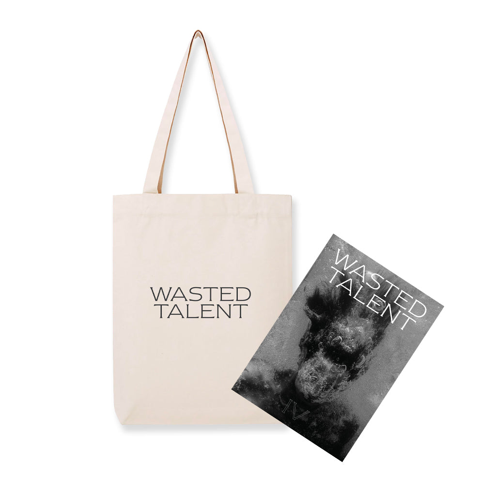 Wasted Talent Magazine Vol. IV & Wasted Talent Tote Bag