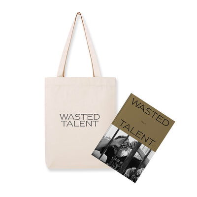 Wasted Talent Magazine Vol V & Wasted Talent Tote Bag
