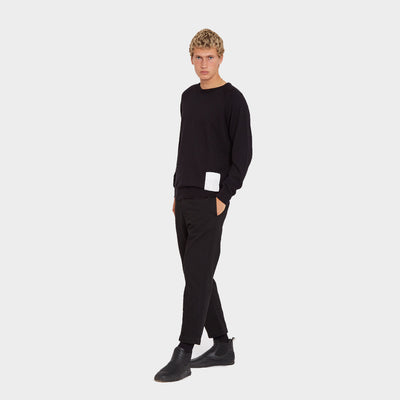 Wasted Talent Marais Crew Neck - Black