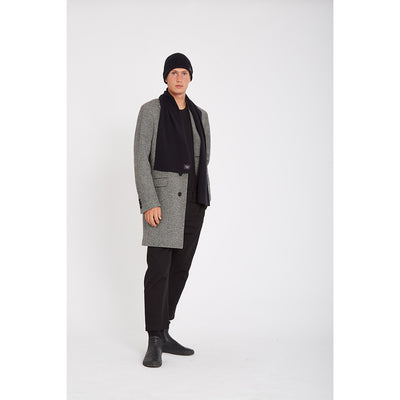 Wasted Talent San Sicario Overcoat -  Black / Champagne
