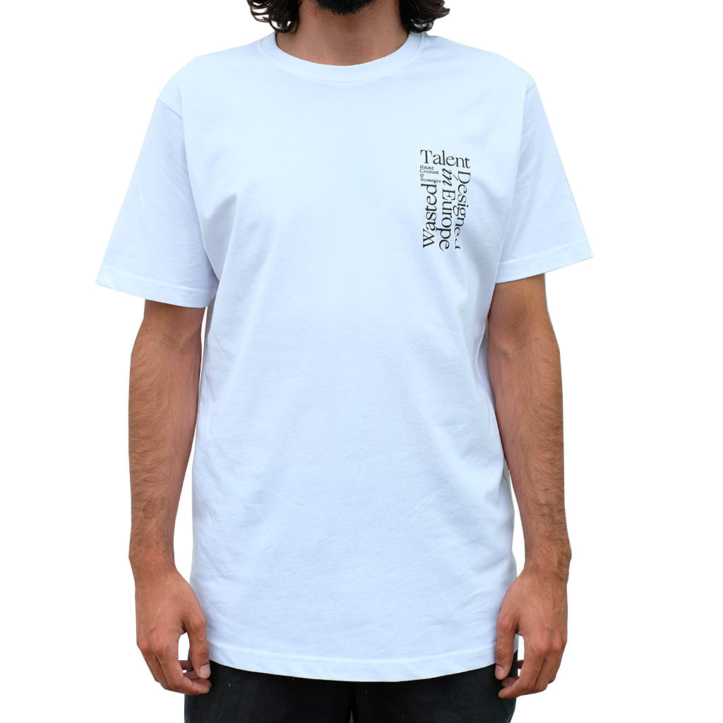 "Wasted Talent ""Le Voyeur"" T-Shirt - White"