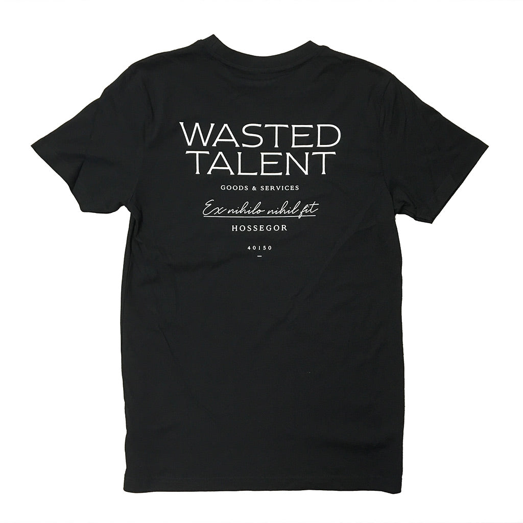 Wasted Talent Hossegor T-Shirt - Black
