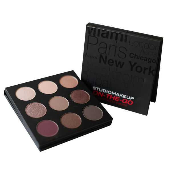 ON THE GO - EYESHADOW PALETTE - COOL DOWN