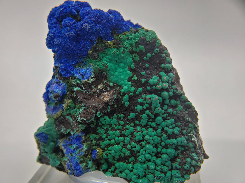 Azurite w/Malachite, New Mexico