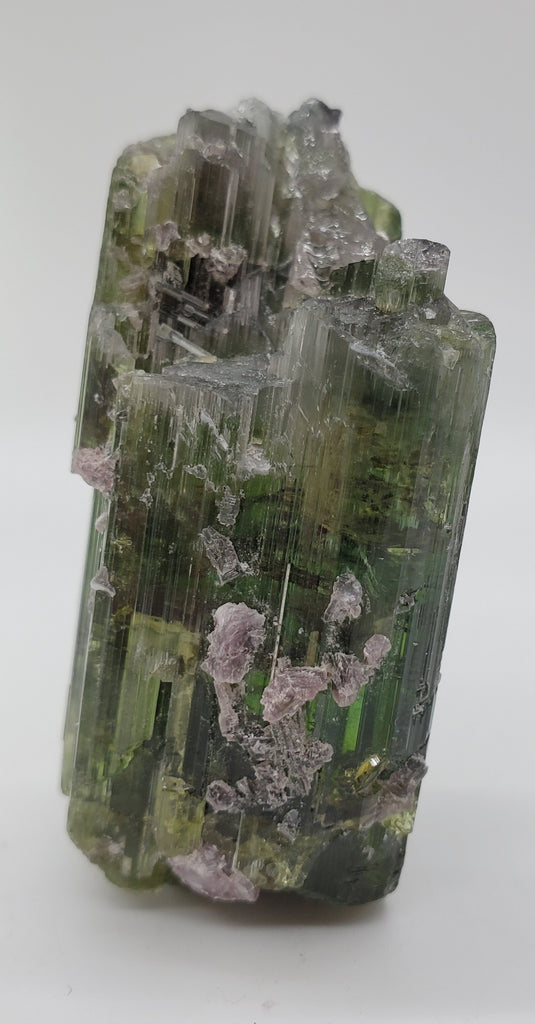 Bi-Color Tourmaline w/ Lepidolite