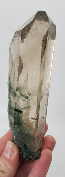 Quartz with Tourmaline