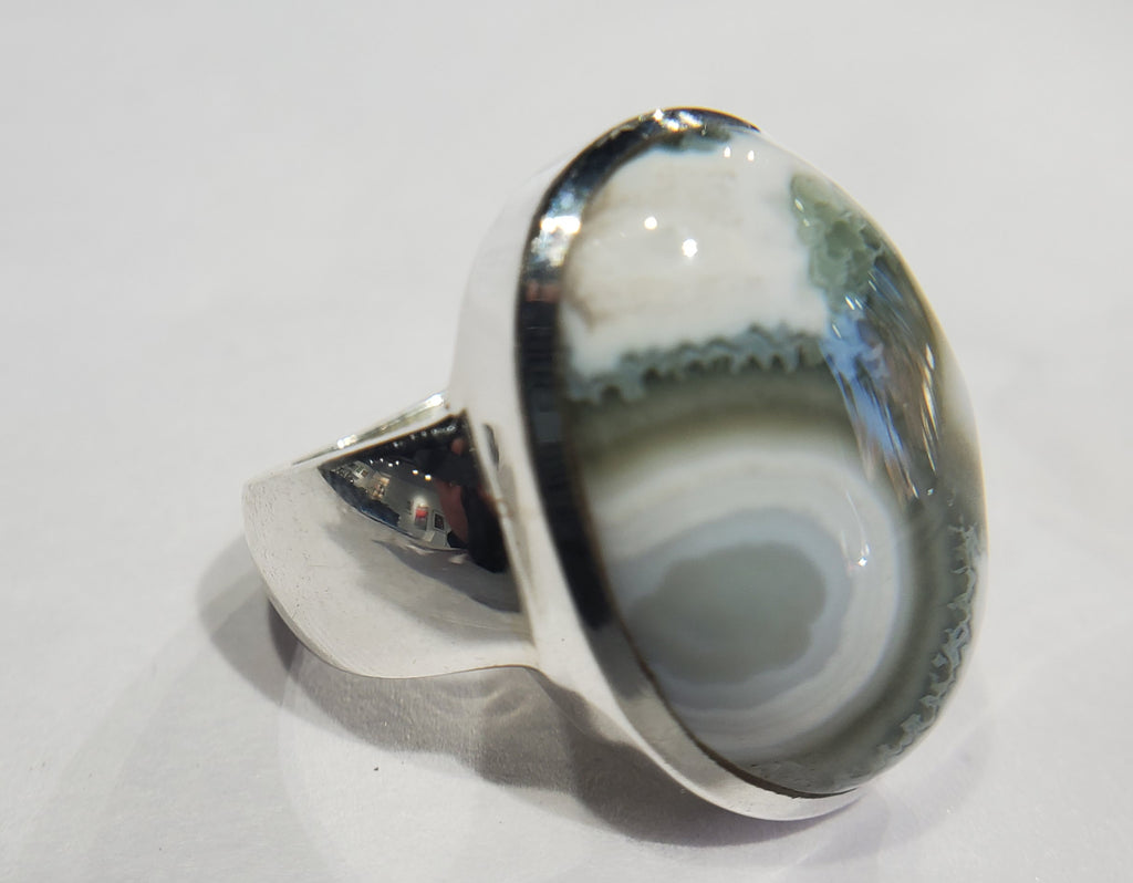 Ocean Jasper Ring in Sterling Silver