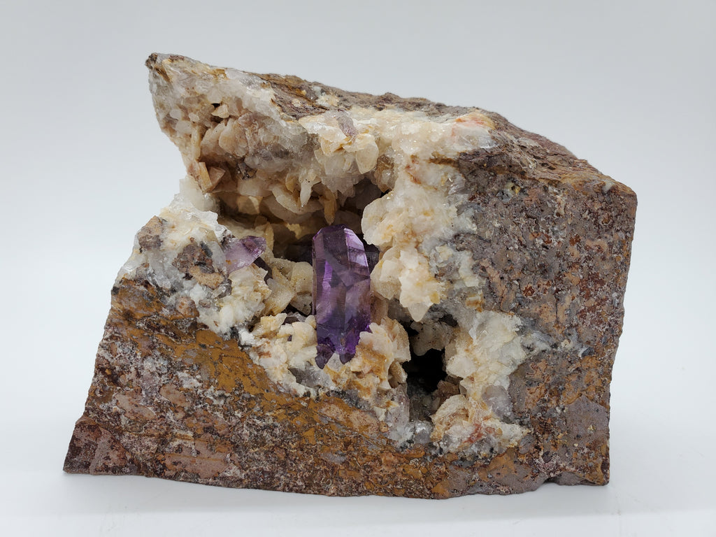 Amethyst with Dolomite