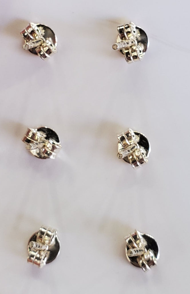 Sunstone Stud Earrings