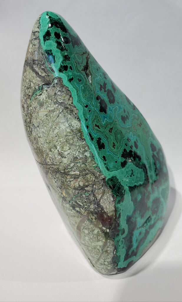 Malachite and Chrysocolla Free Form, Arizona