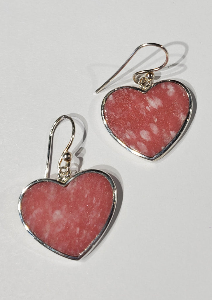 Thulite Earrings