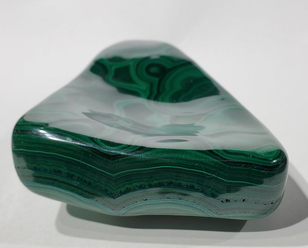 Polished Malachite, Congo