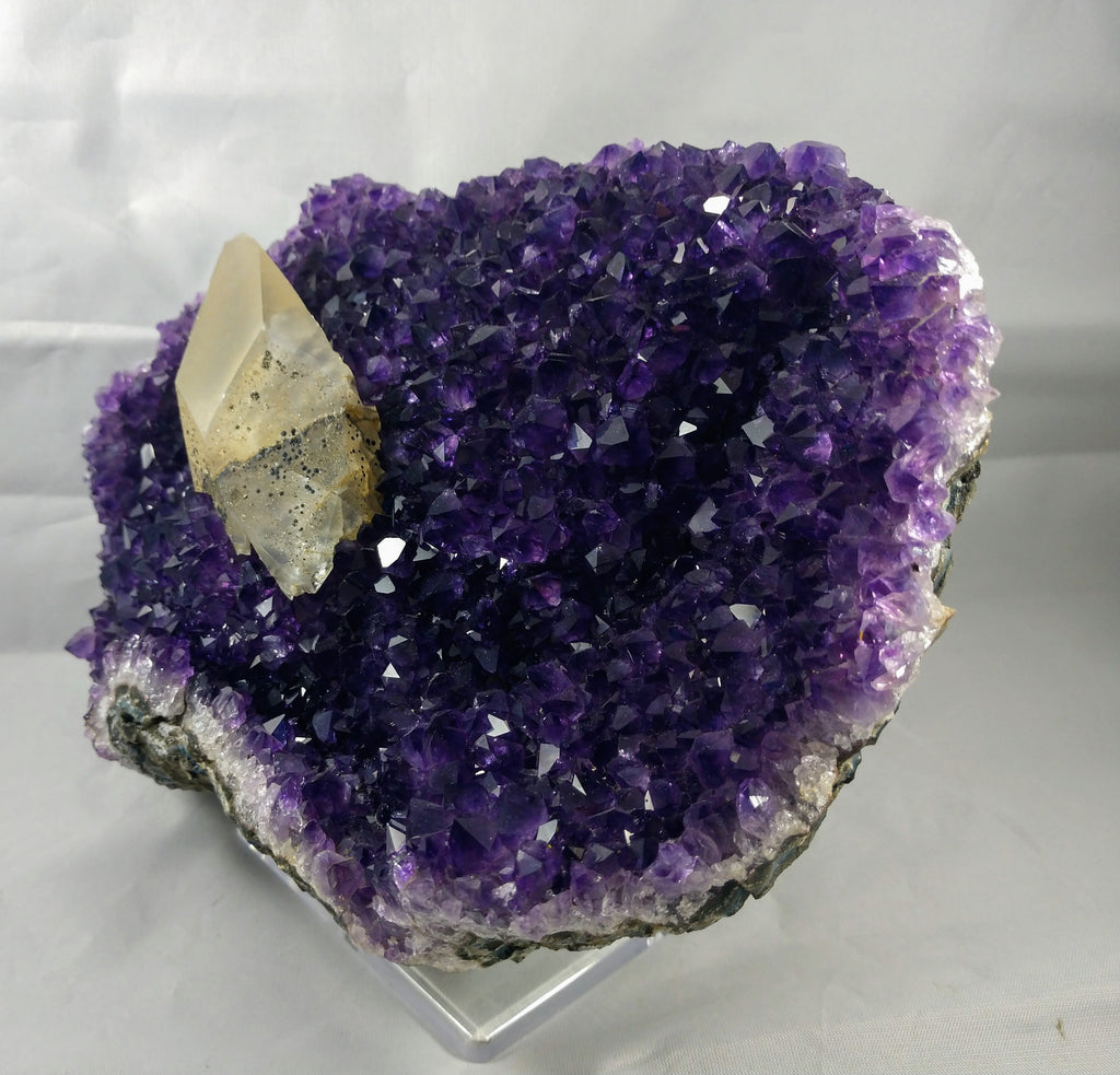 Amethyst with Calcite Formation, 5.53 lbs