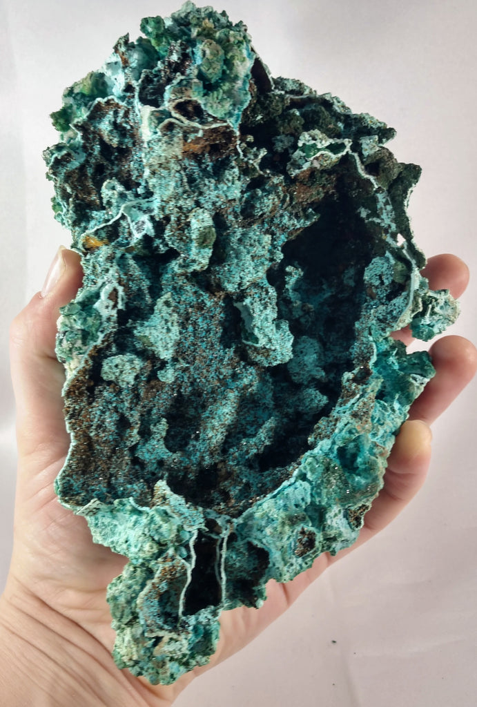 Chrysocolla with Malachite
