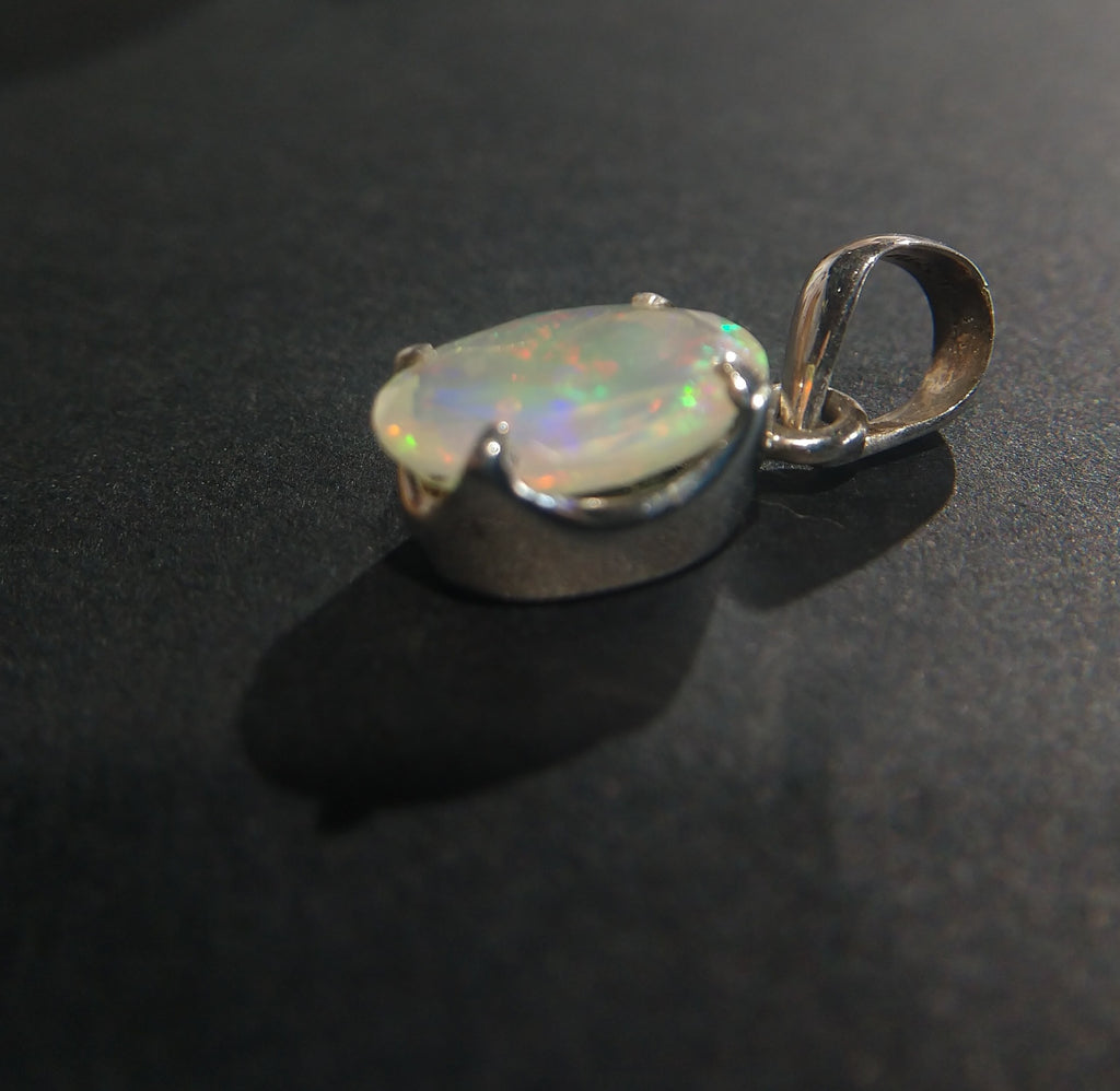 Faceted Opal Pendant