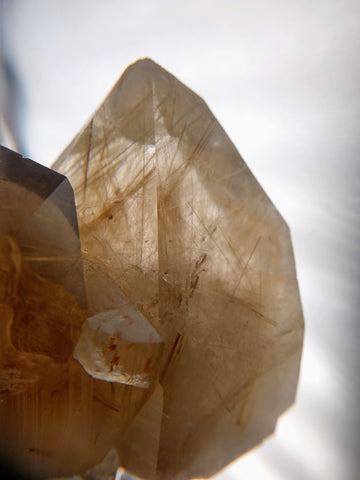 Rutilated Smoky Quartz