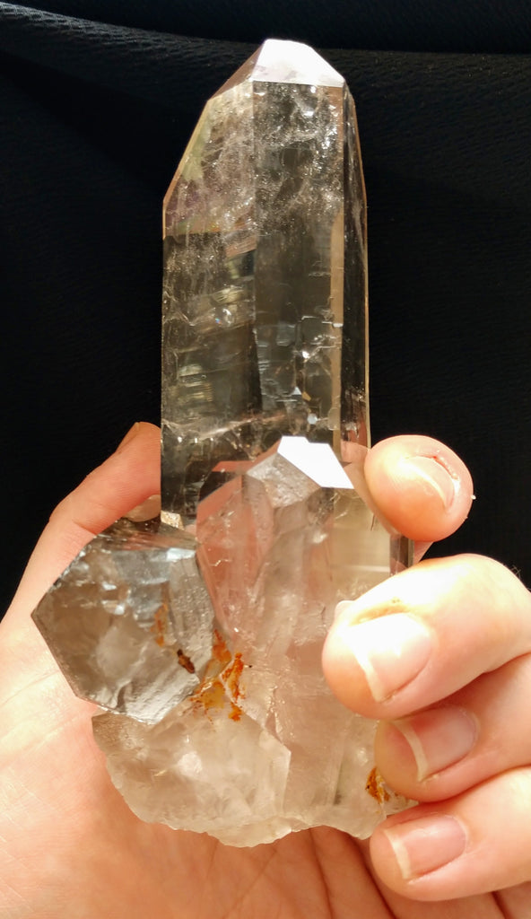 Mother and Child Quartz Crystal from Brasil