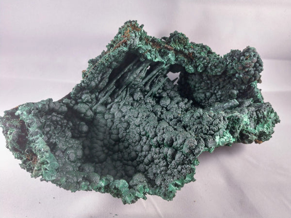 Malachite Stalactite Formation from the Congo
