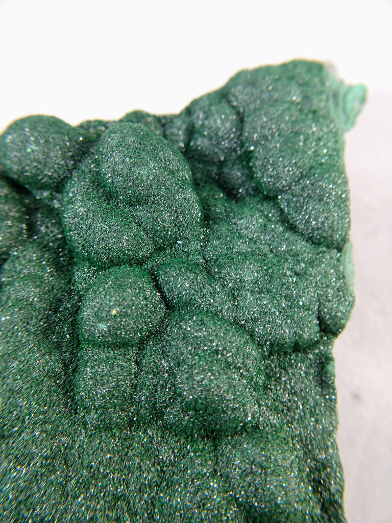 Botryoidal Malachite from the Congo