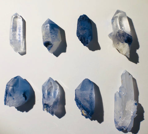 Dumortierite Quartz Point, Brasil