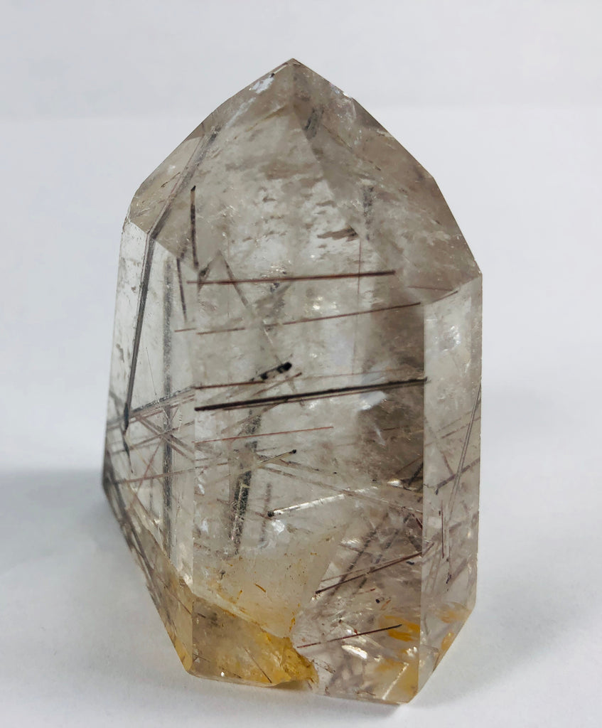 Rutilated Quartz Point, Brasil