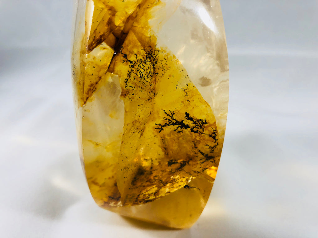 Golden Healer Quartz with Dendrites