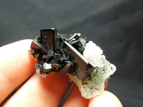 Babingtonite w/ Quartz & Epidote