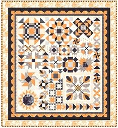 Halloween Figs Block of the Month 2019