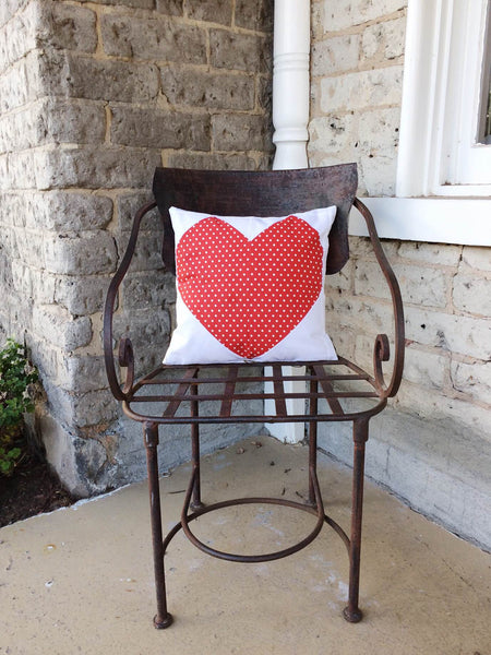 Easy Heart Pillow