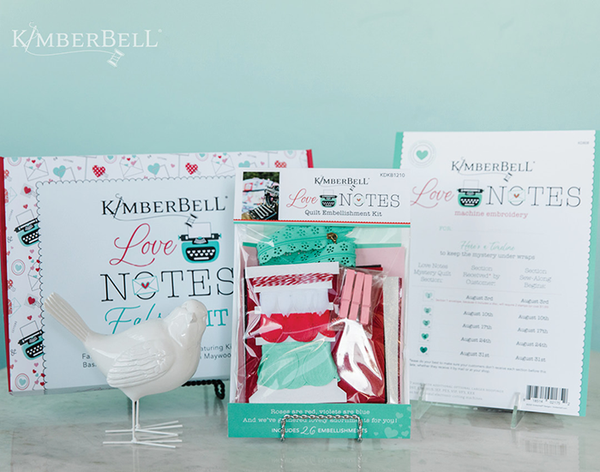 Kimberbell Love Notes Mystery Sew Along