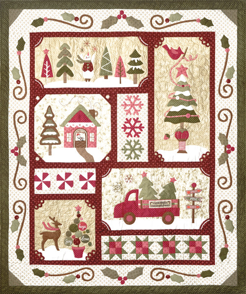 Sew Merry Laser Cut Quilt Kit