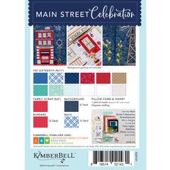Kimberbell Main Street Celebration Machine Embroidery Pattern Back