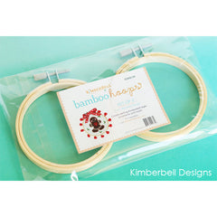 Kimberbell Bamboo Hoops 3½ inches x 3½ inches set of 2