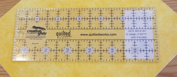"Creative Grids 2½"" x 6½""  Ruler"
