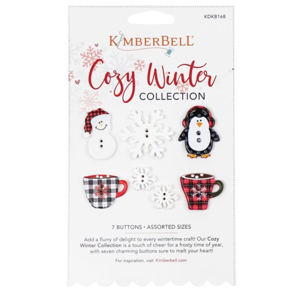 Kimberbell Cozy Winter Button Collection