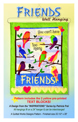 Friends Wall Hanging Pattern