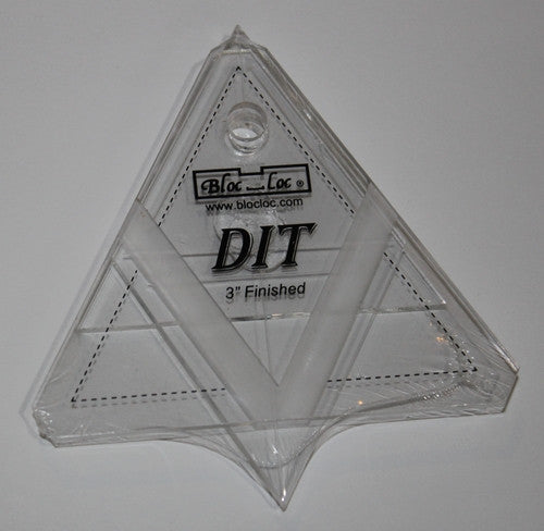 "Block Loc 6"" Diamond In a Triangle Ruler"