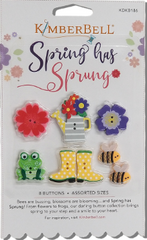 Kimberbell Spring Has Sprung Button Pack