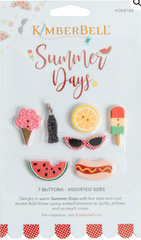 Kimberbell Summer Days Button Pack